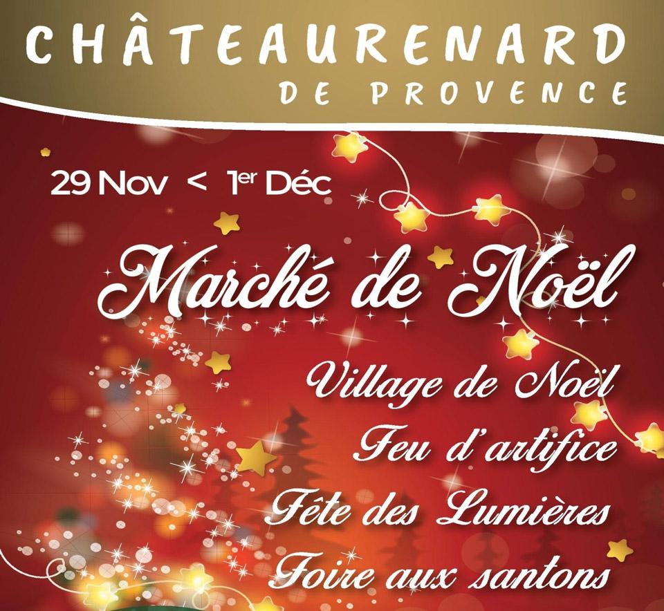 marché de noël Châteaurenard