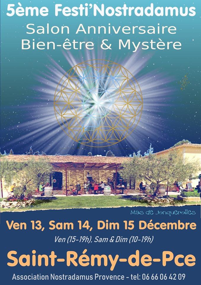 salon festi nostradamus 2019 à saint rémy de provence