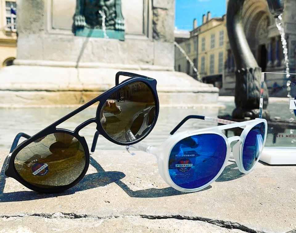 Les marques de lunettes de soleil Vuarnet et Ray-Ban sont chez Optique Rolland