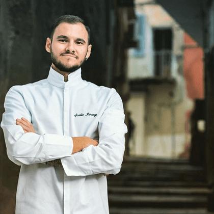 chef jérémy scalia du restaurant de tourrel 1* à saint Rémy de Provence