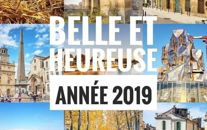 voeux 2019 Arles Alpilles Crau Camargue Montagnette