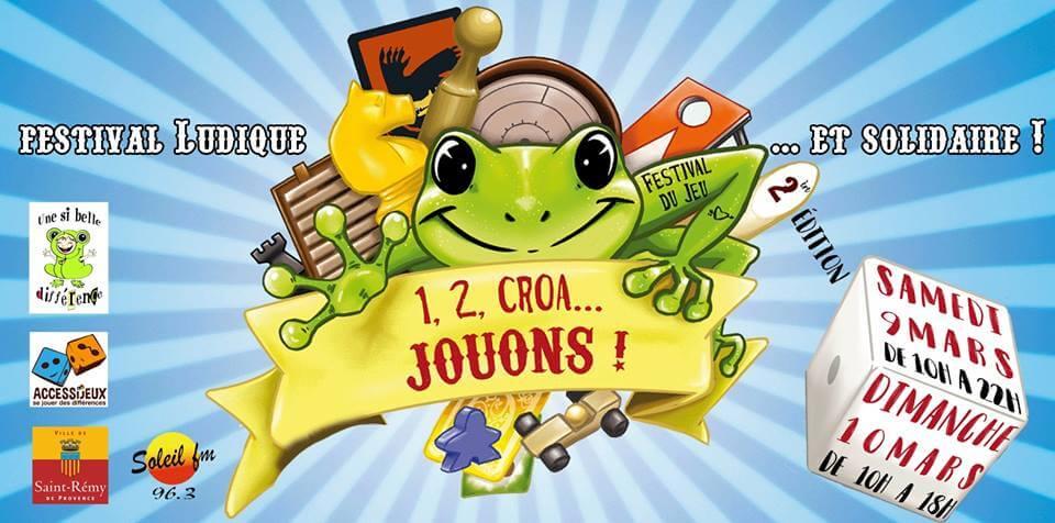 festival du jeu 1 2 Croa Jouons à Saint Rémy de Provence