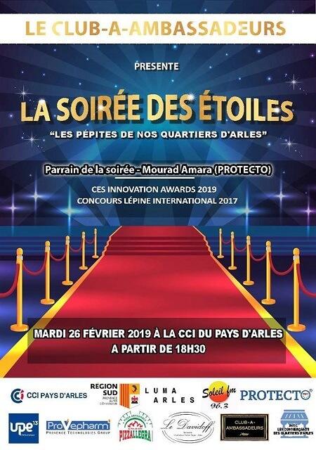 Soirée des Etoiles 2019 à Arles