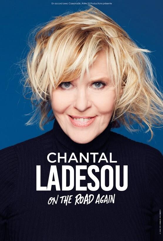 Spectacle Chantal Ladesou à la Salle de l'Etoile à Chateaurenard le 20 avril 2019