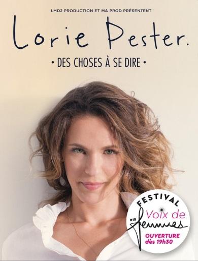 Lorie Pester Festival Voix de Femmes 2020 à Saint Martin de Crau