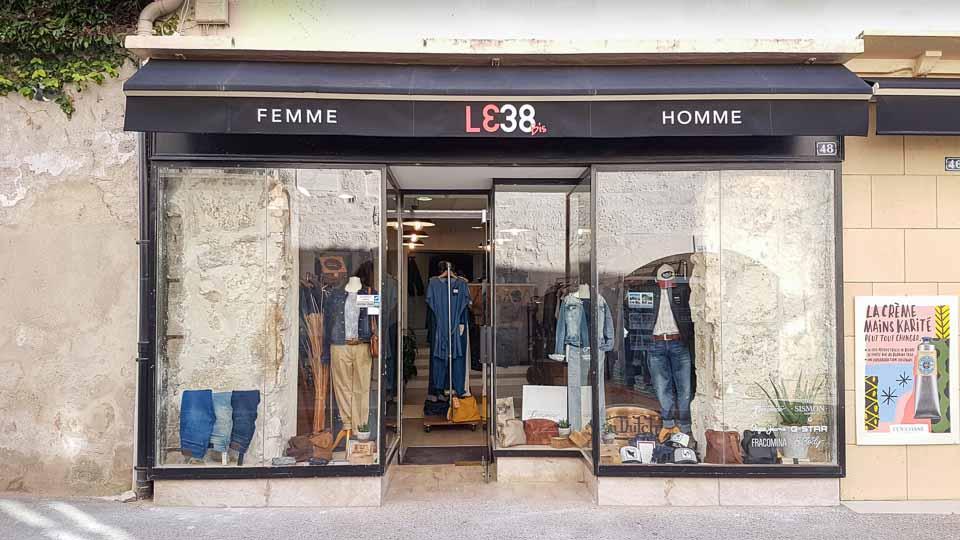 boutique shopping saint remy de provence le 38 bis