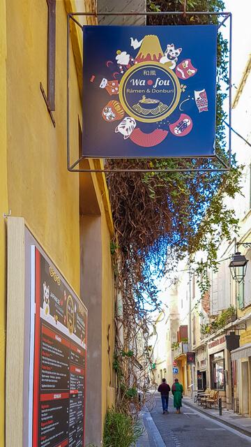 Restaurant japonais à Arles Wafou Ramen et Donburi