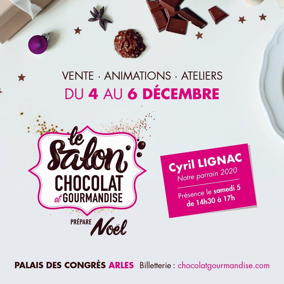 salon chocolat et gourmandise arles 2020