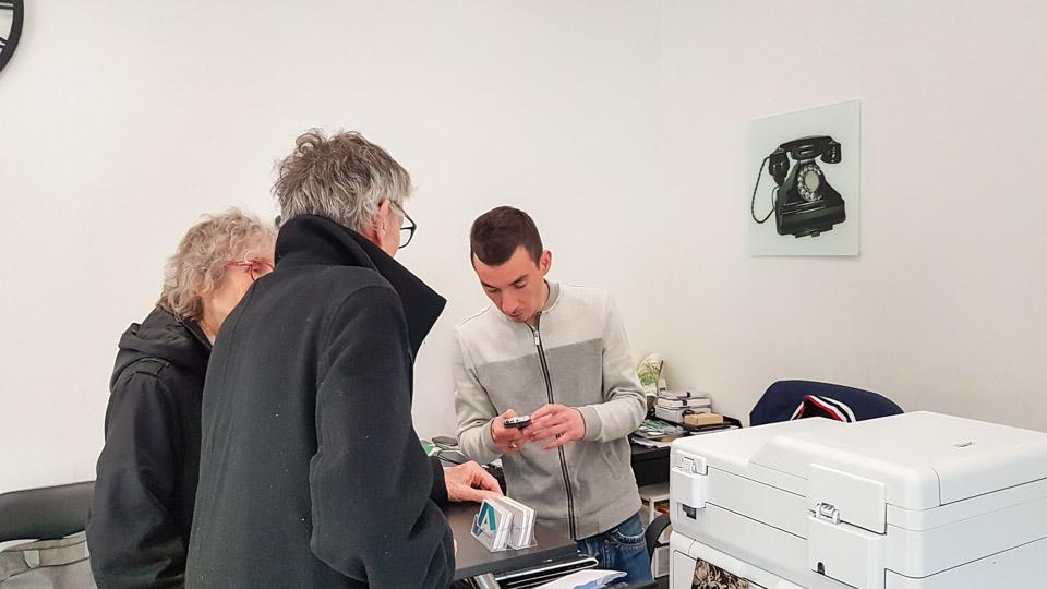 depannage reparation téléphonie informatique saint rémy de provence azerty