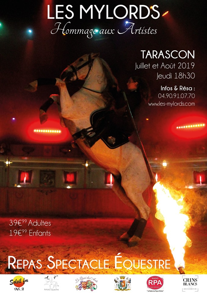 spectacle equestre arles les mylords tarascon audrey fieloux
