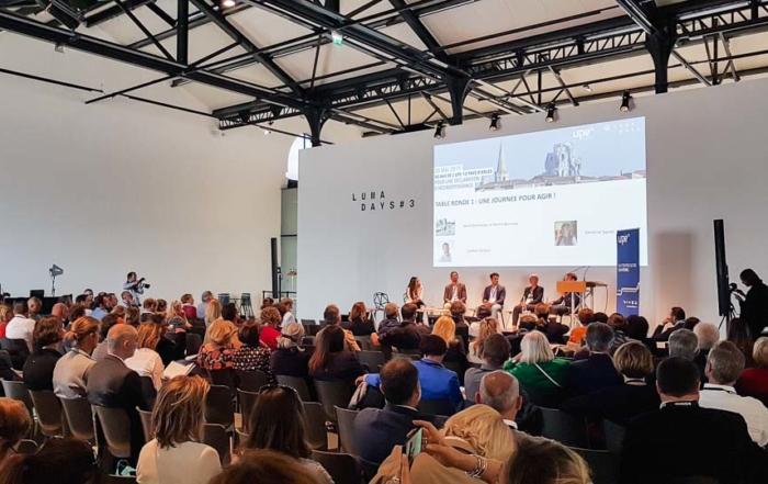 50 ans de l'UPE du Pays d'Arles au Parc des Ateliers de la fondation Luma le 20 mai 2019