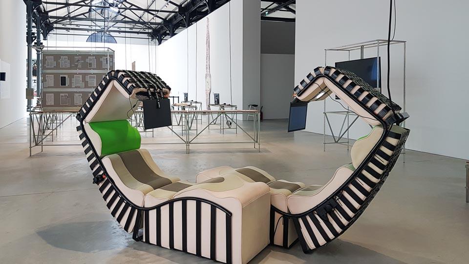Exposition School of Schools au Parc des Ateliers de la fondation Luma le 20 mai 2019