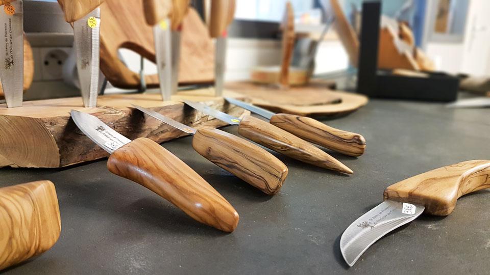 artisan saint rémy de provence olivier au couteau