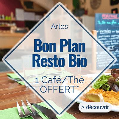 bon plan restaurant bio à Arles Au Bonheur d'Emilie