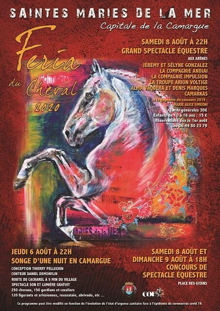 Feria Du Cheval 2020 Aux Saintes Maries De La Mer Le Programme
