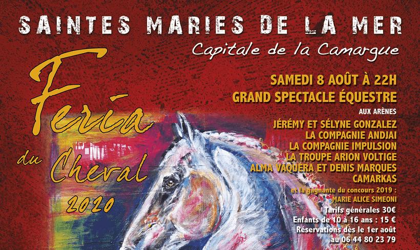 Féria du Cheval 2020 aux Saintes Maries de la Mer