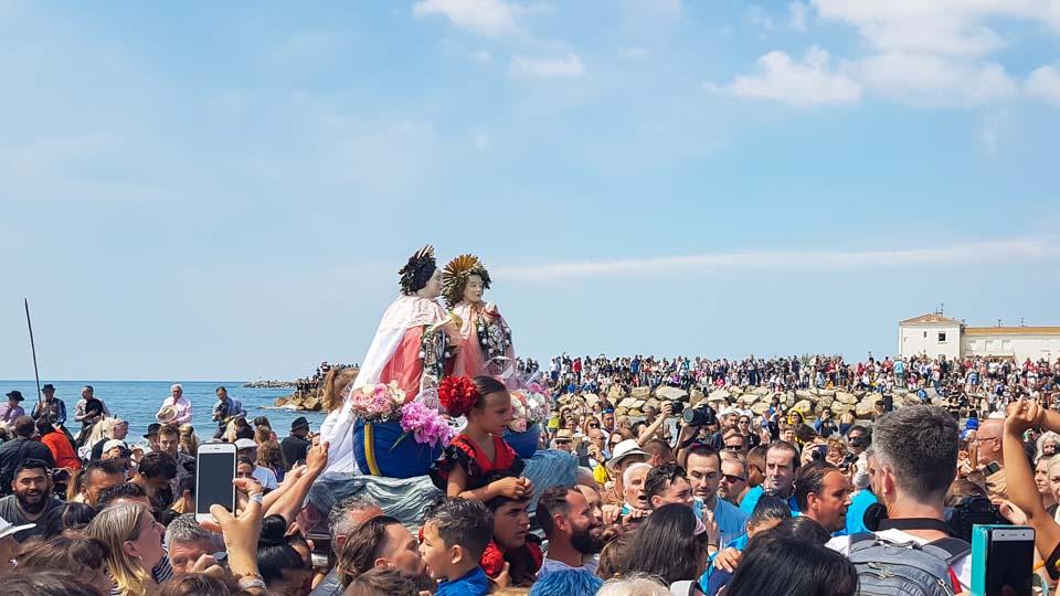 fête des gitans et pélerinage 2019 aux Saintes Maries de la Mer
