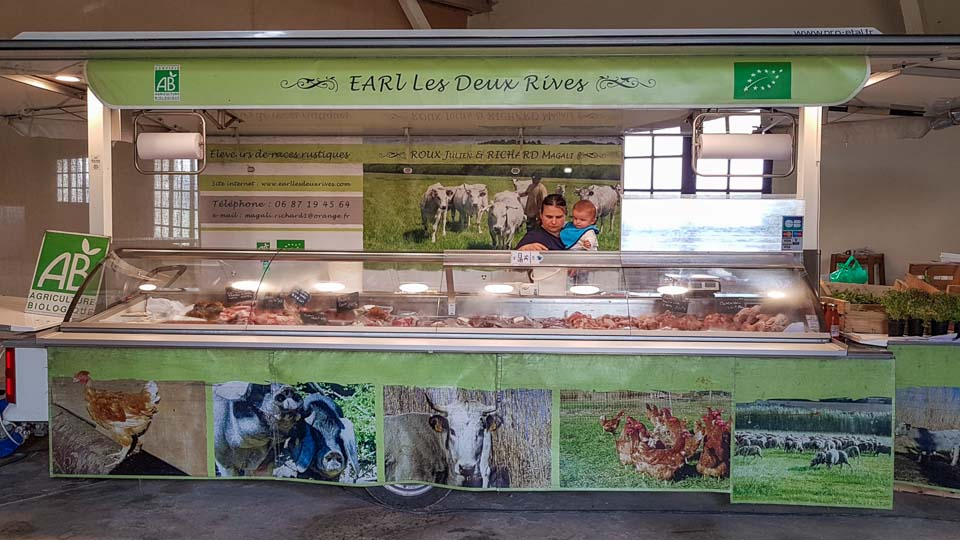 producteur viande bio à fontvieille Les 2 Rives