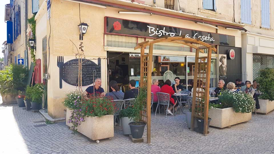 restaurant La Caseta Tarascon Fêtes de la Tarasque 2019