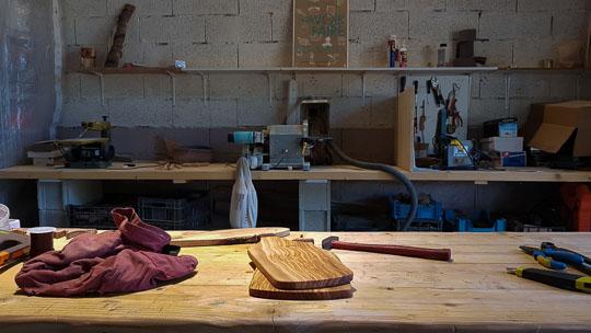 artisan coutellier saint rémy de provence olivier au couteau
