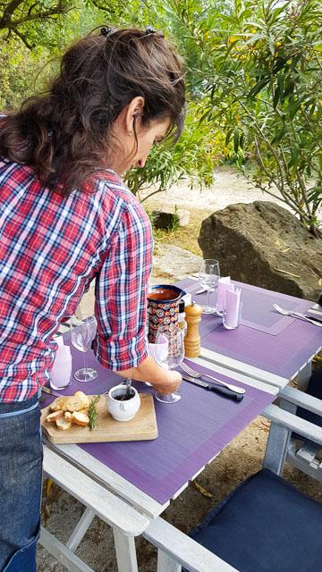 restaurant fontvieille parc des cordes