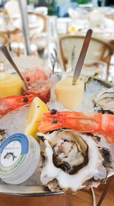 restaurant poisson coquillages arles du bar à l'huître