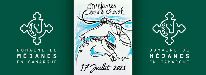 Féria du Cheval 2021 à Méjanes et Rejon d'Or