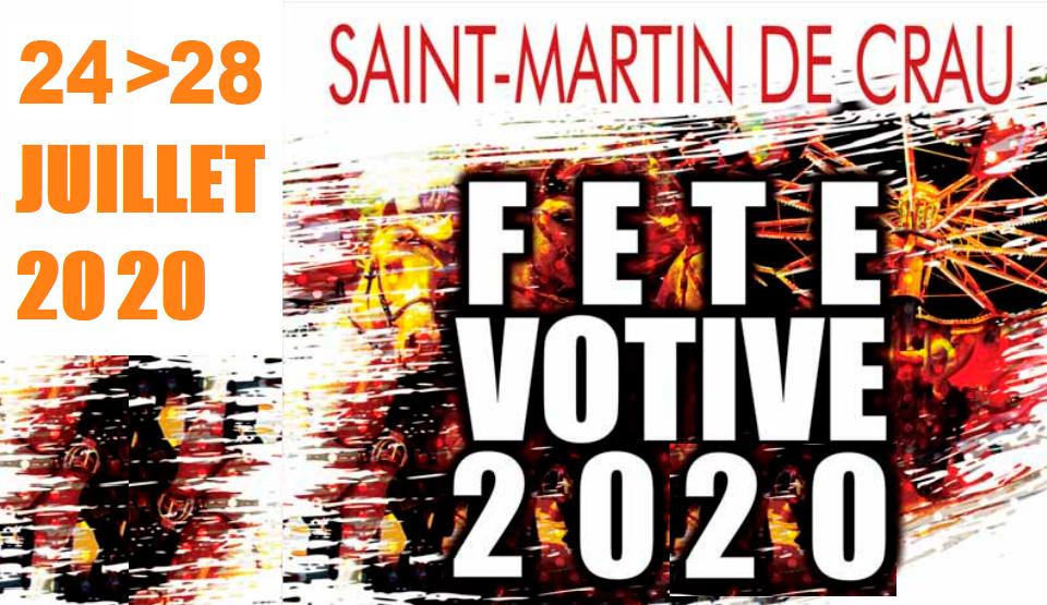 fête votive 2020 à Saint Martin de Crau