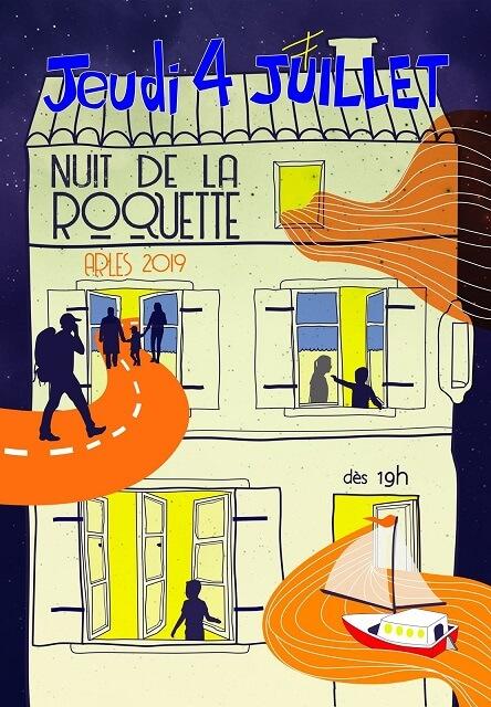 Nuit de la Roquette 2019 à Arles
