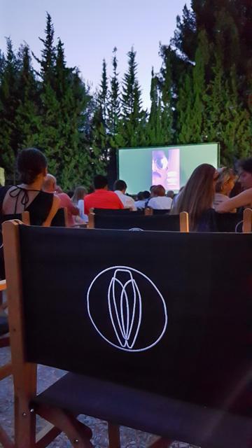 Hameau des Baux Paradou Alpilles cinema en plein air Estival du Hameau