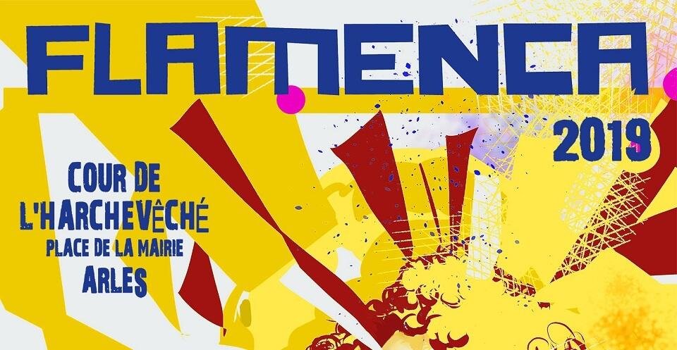 festival Flamenca 2019 cour de l'archevéché à Arles
