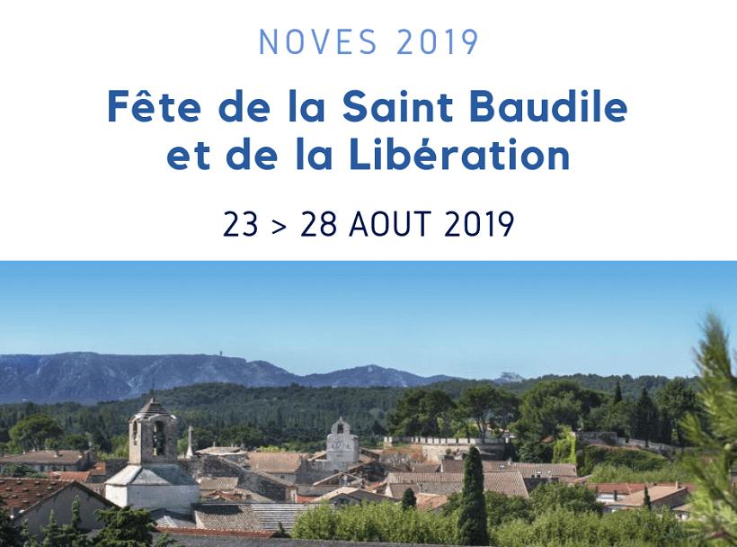 fête saint Baudile et Libération 2019 à Noves 13