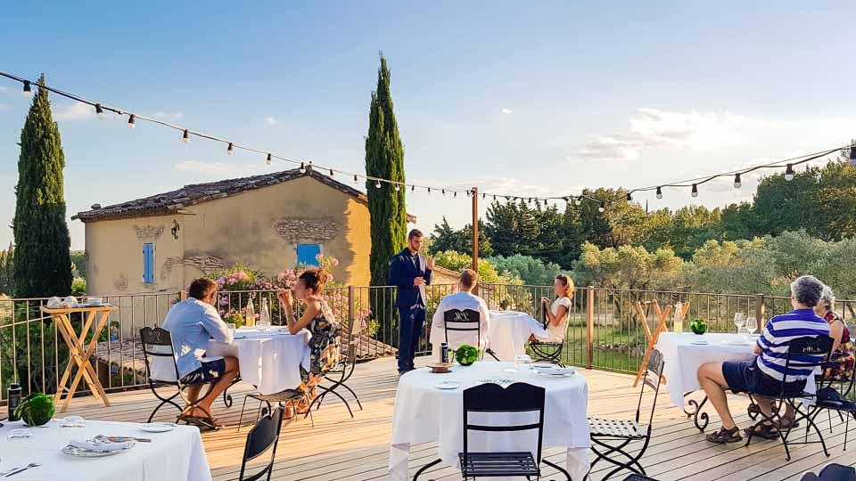 Hameau des Baux Paradou Alpilles Hotel restaurant Cicada