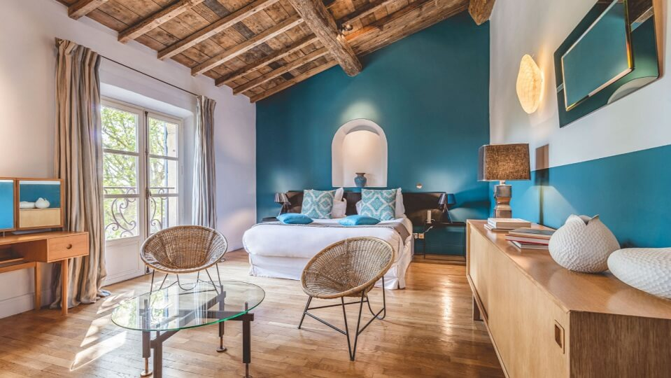Hameau des Baux Paradou Alpilles Hotel chambre suite