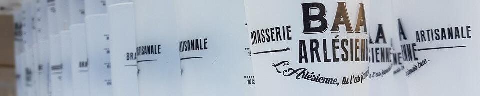 futs bieres bio evenementiel alpilles Camargue BAA de la Brasserie Artisanale Arlésienne à Arles