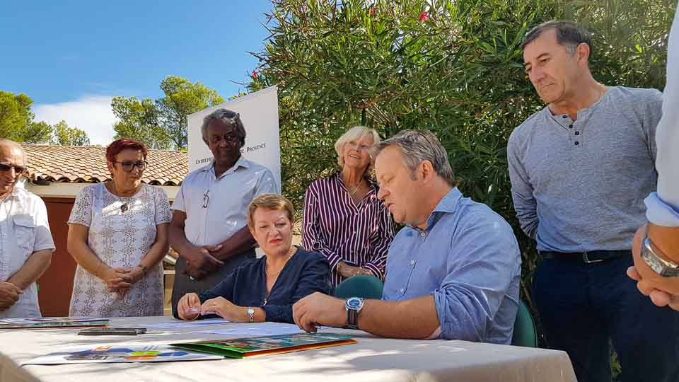 Club Entrepreneurs Terre de Provence à la MFR Barbentane