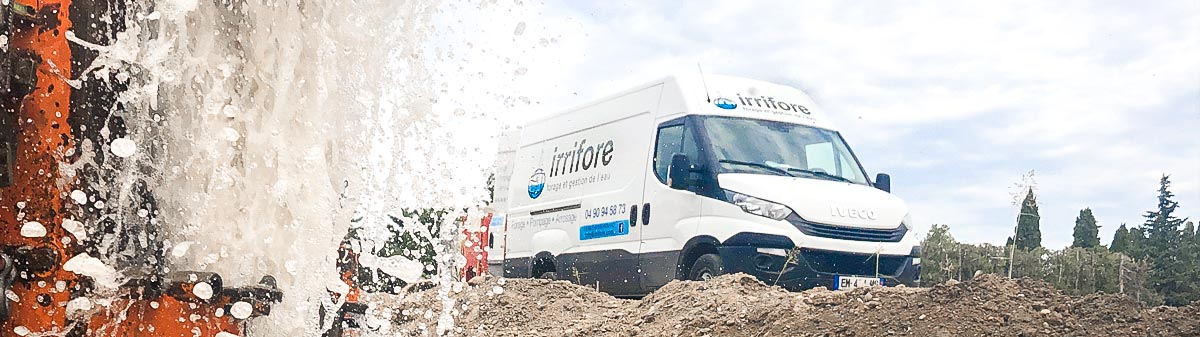 forage sur Arles, Alpilles et Camargue : Irrifore