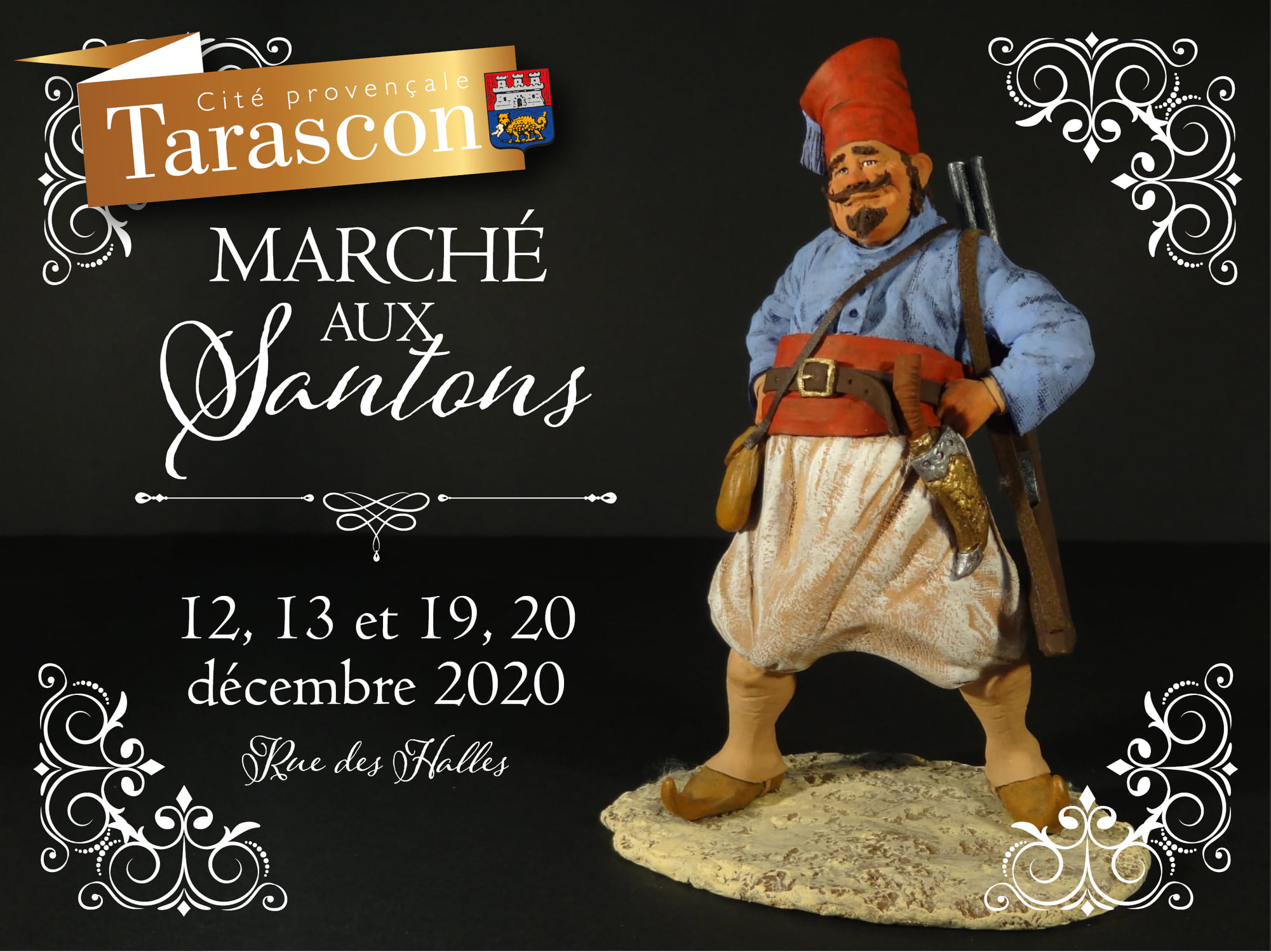marche noel santons tarascon 2020