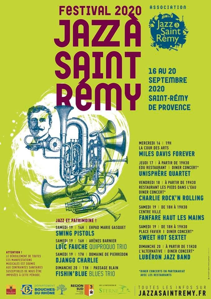 jazz à saint rémy festival musique