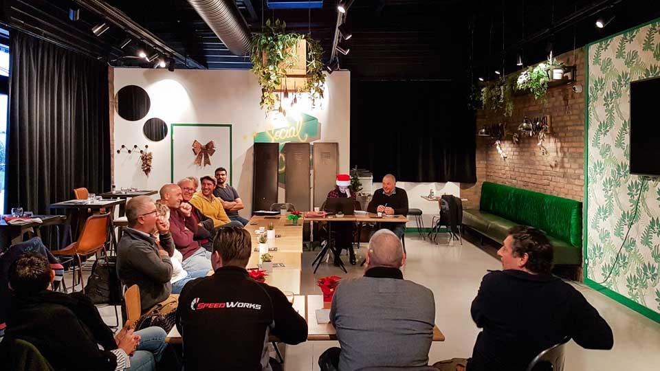 réunion hebdomadaire du Carré des Entrepreneurs d'Arles à La Meunerie
