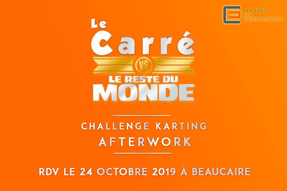 challenge karting et afterwork Carré des Entrepreneurs de Tarascon
