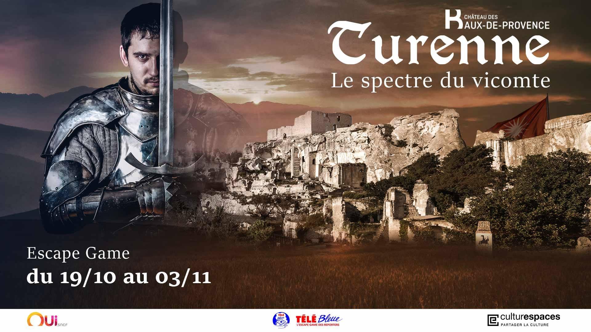 Escape Game au Château des Baux de Provence