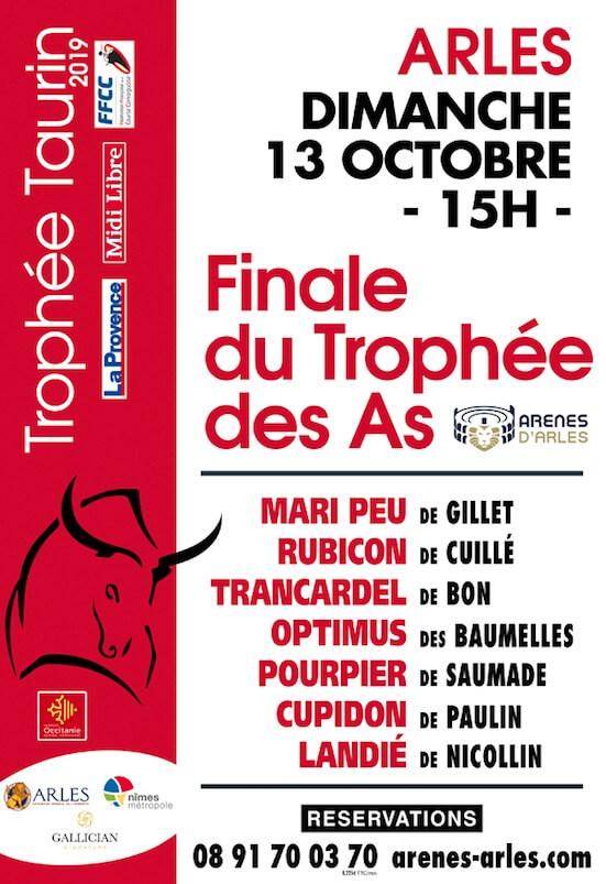 Finale du Trophée des As 2019 aux Arènes d'Arles