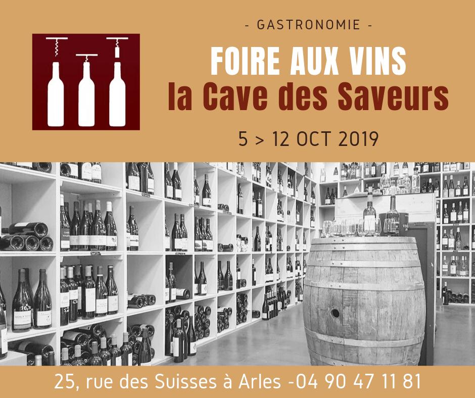 Arles, Foire aux vins 2019 à la Cave des Saveurs