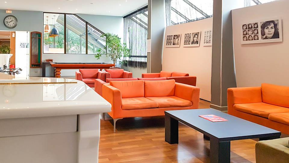 Bar lounge Hôtel Atrium Arles
