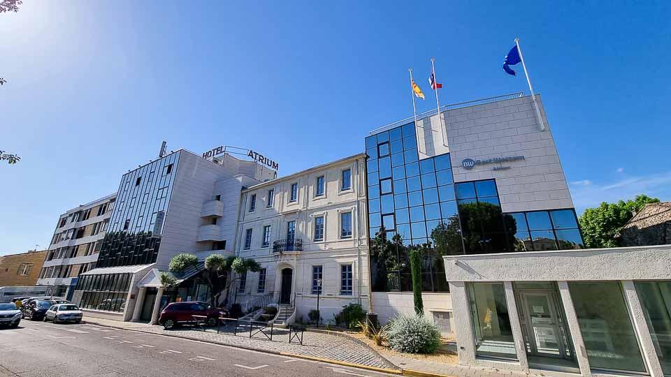 Hôtel 3* au coeur de la ville d'Arles avec piscine, rooftop et parking - Hôtel Atrium