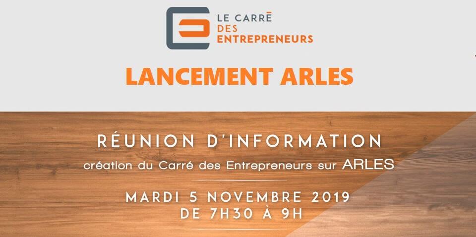 Lancement Carré des Entrepreneurs ARLESs