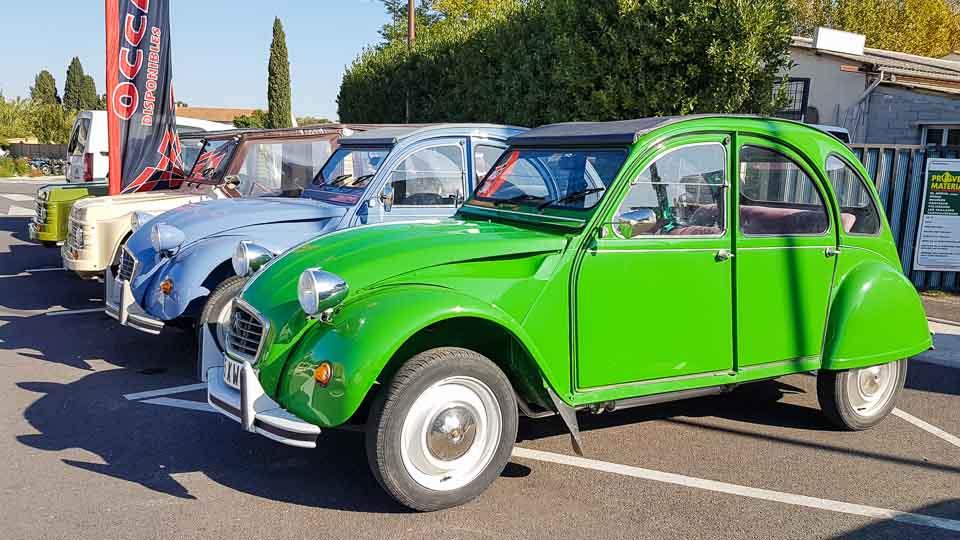 spécialistes voitures anciennes, 2 cv, Mehari sur les Alpilles et la région d'Arles - Garage Merklen à Saint Rémy de Provence