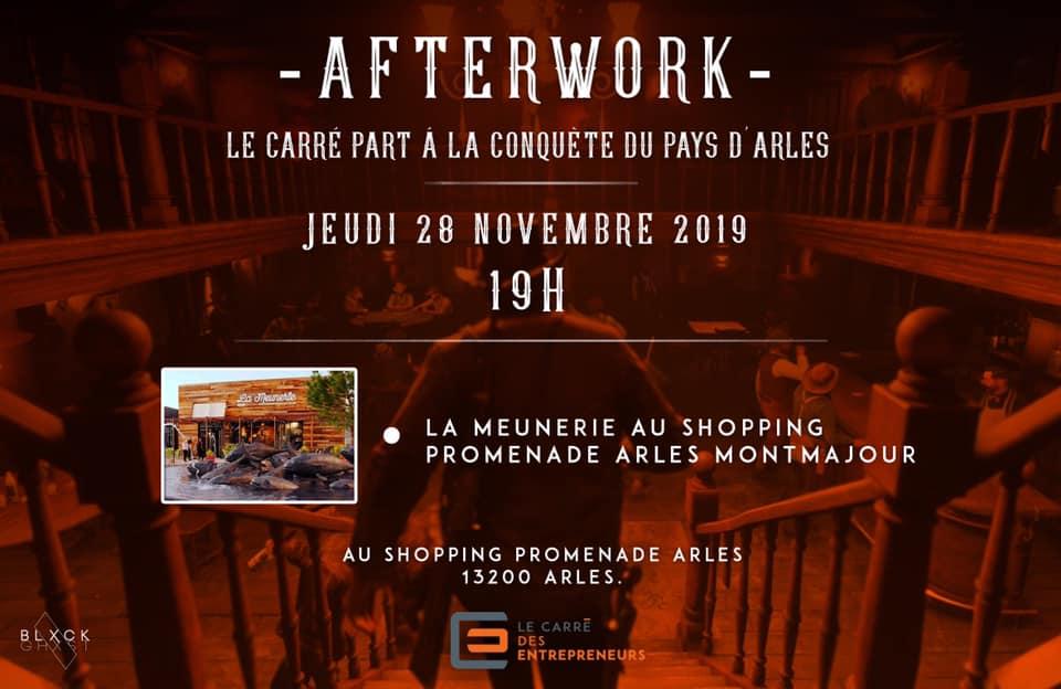 afterwork carré entrepreneurs arles