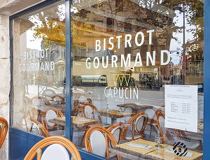 CAPUCIN restaurant snack salon de thé à Arles